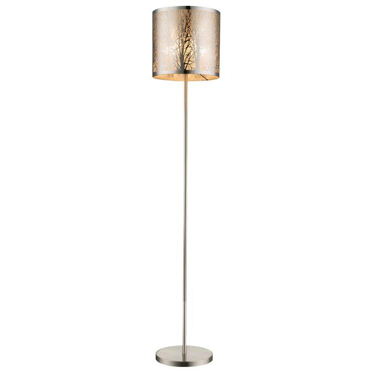 Design Floor lamp Living room Stainless steel screen Floor lamp Decor punching Globo 15084s – Bild 1