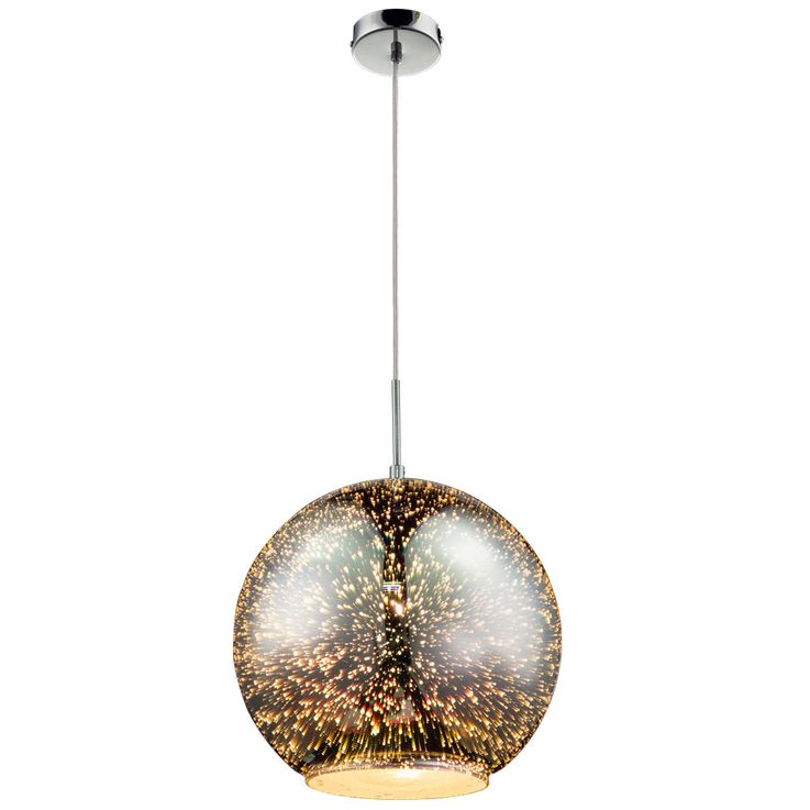 Ball Hanging Lamp Ceiling Pendulum Lamp Living Room Lighting Round 3D Effect Spotlight Globo 15846 – Bild 1