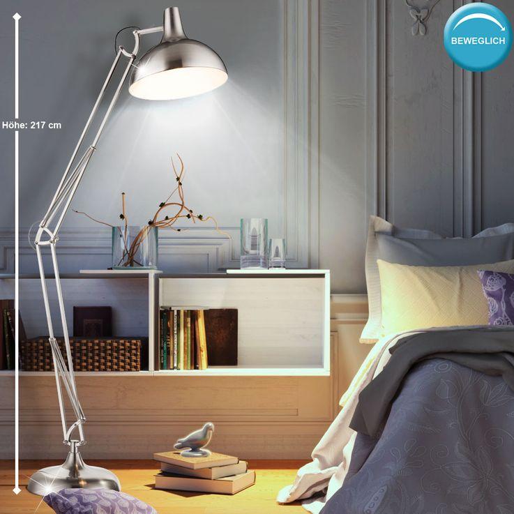 Stand Stand Light Workroom Reading Lamp Spot Spotlight height adjustable  Globo 58310 – Bild 2