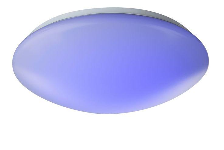 15 Watt RGB LED ceiling lamp color change residential sleeping room lamp Globo 41672RGB – Bild 5