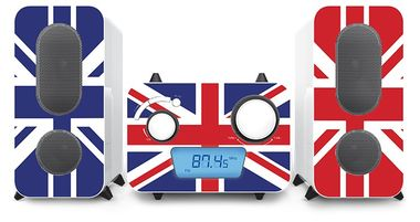 Stereo Musik Anlage CD Spieler Radio USB MP3 Flaggen Designs Big Ben MCD 11 Flag – Bild 4