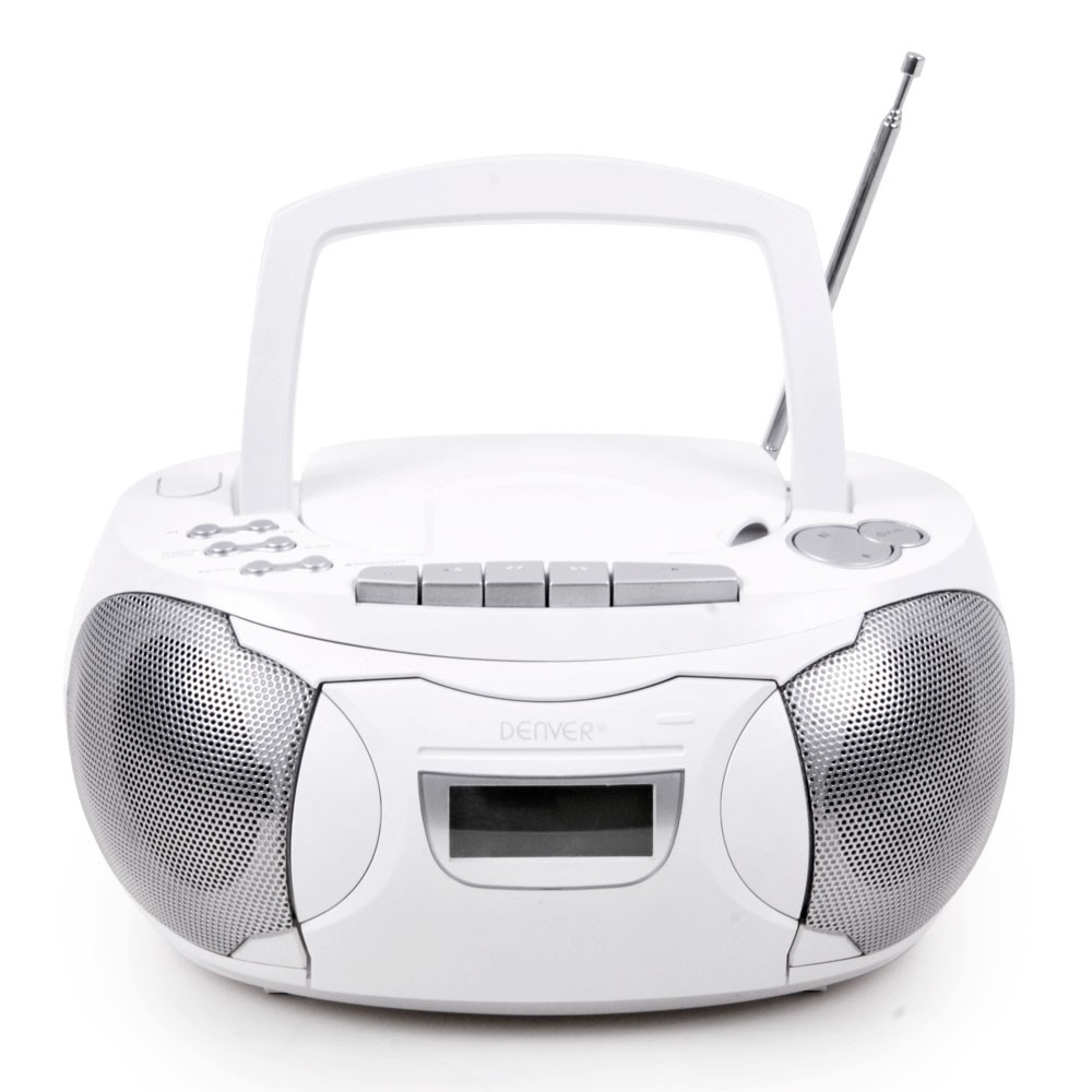 wei es cd radio mit kassettendeck und aux eingang audio technik audio hifi radios cd radios. Black Bedroom Furniture Sets. Home Design Ideas