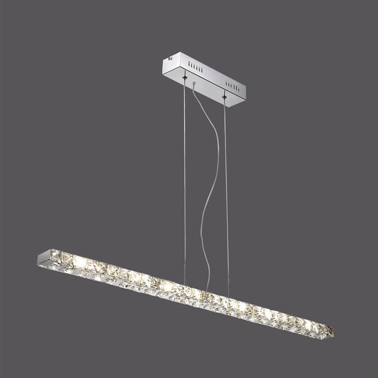 Une suspension à DEL de grande qualité avec des cristaux – Bild 5