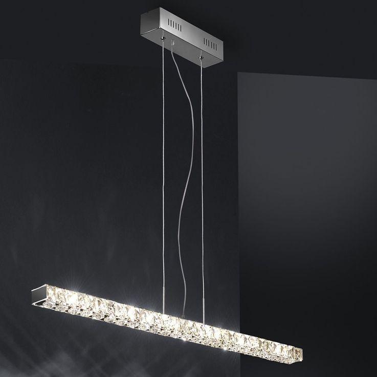 Une suspension à DEL de grande qualité avec des cristaux – Bild 4