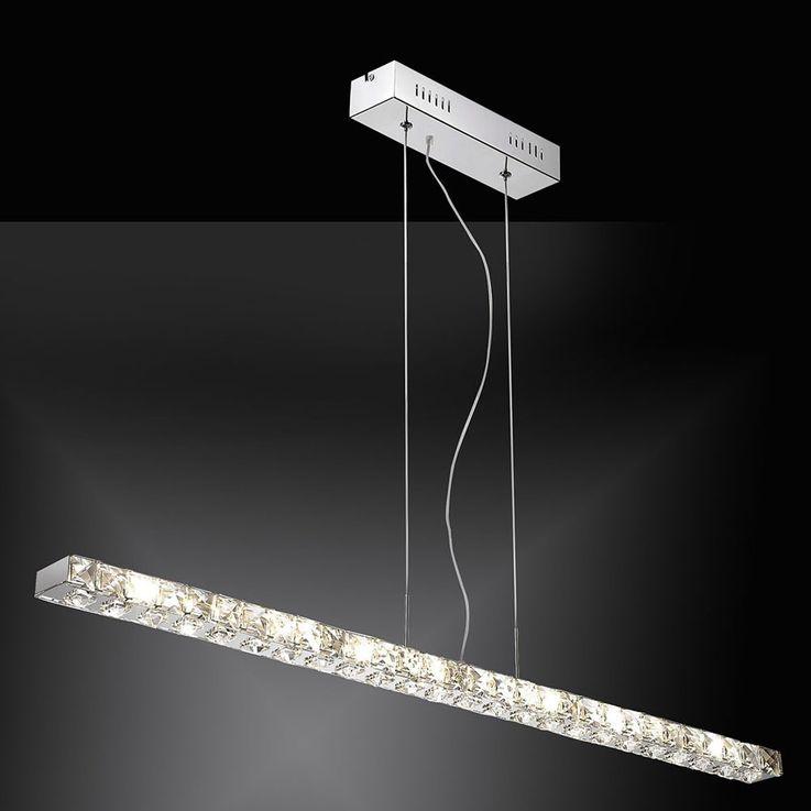 Une suspension à DEL de grande qualité avec des cristaux – Bild 6