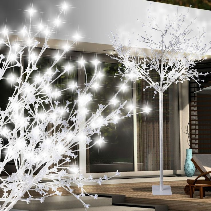Luxury 600 x LED's outdoor tree stand lamp XMAS Christmas lighting white IP44 Leuchten Direkt 86130-16 – Bild 2