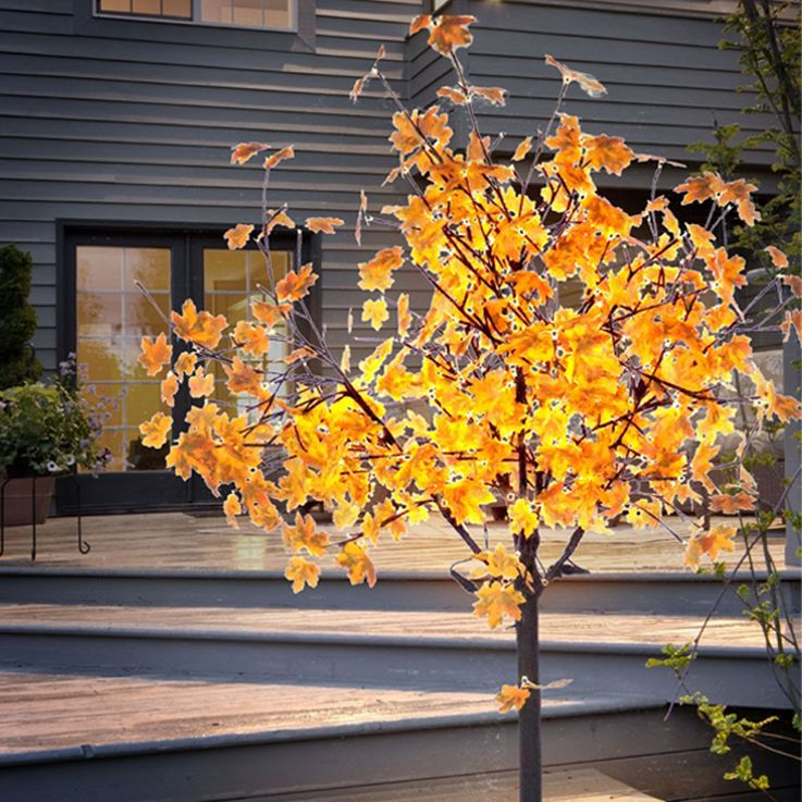 450 LED's decoration tree garden branches yard lighting outdoor stand lamp Leuchten Direkt 86135-18 – Bild 4
