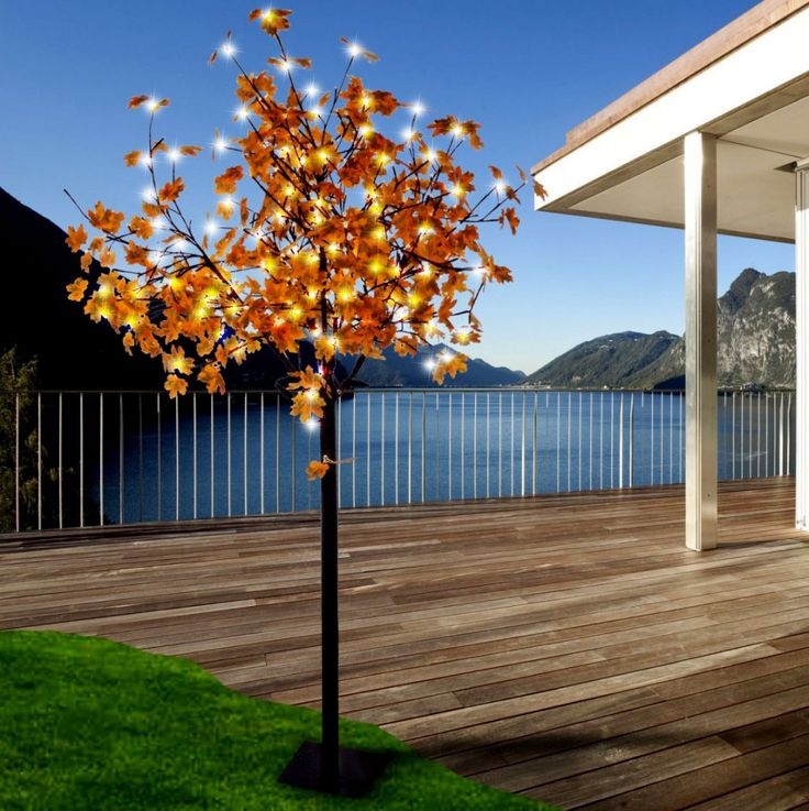 450 LED's decoration tree garden branches yard lighting outdoor stand lamp Leuchten Direkt 86135-18 – Bild 3