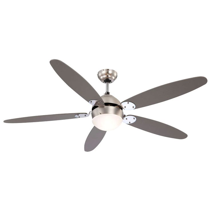 Ceiling fan with wall switches and lighting – Bild 11