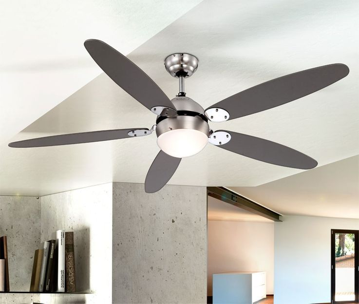 Ceiling fan with wall switches and lighting – Bild 9