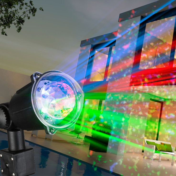 Put light RGB LED party light effect Garden Court outdoor color changing lamp stained Globo 32000 – Bild 4