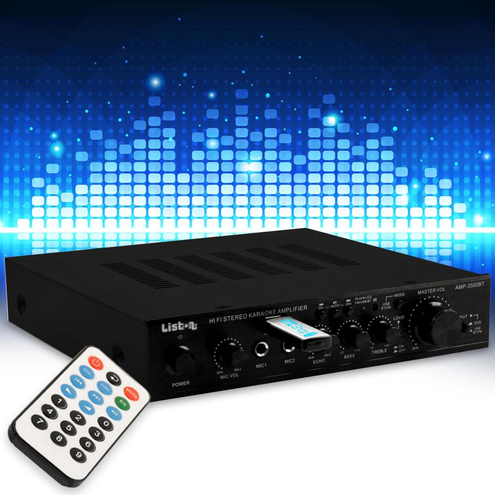 Verstärker Receiver mit Bluetooth und USB AMP3500BT – Bild 2