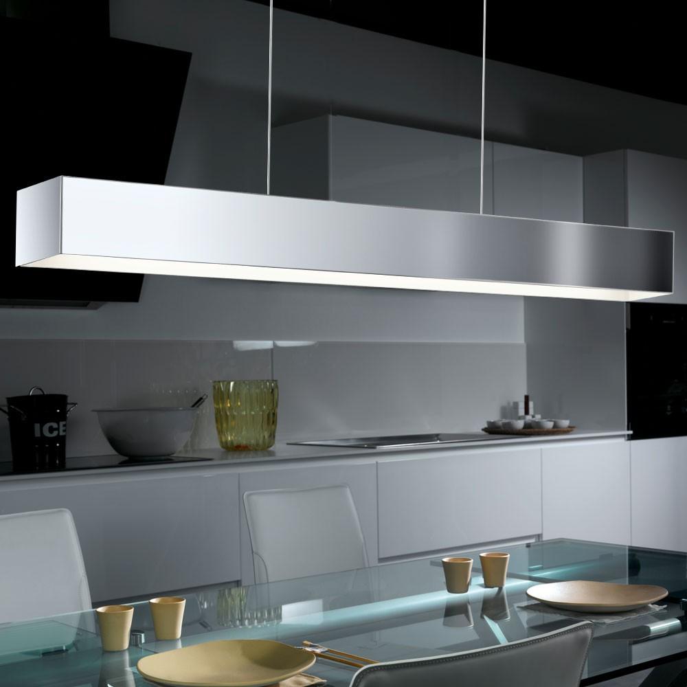 elegante led h ngeleuchte in chrom f r ihre vier w nde lampen m bel r ume wohnzimmer. Black Bedroom Furniture Sets. Home Design Ideas