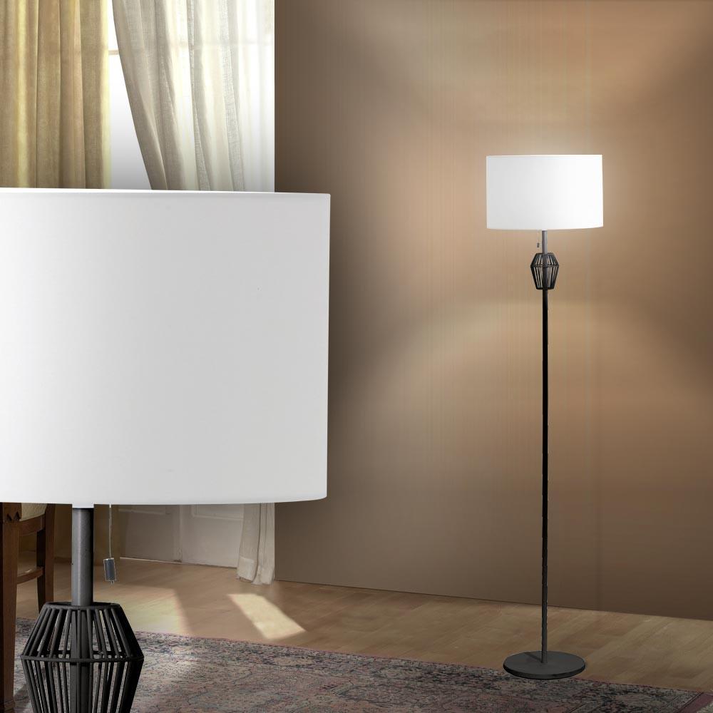 elegante stehlampe f r den wohnraum inkl rgb led lampen m bel innenleuchten stehleuchten. Black Bedroom Furniture Sets. Home Design Ideas