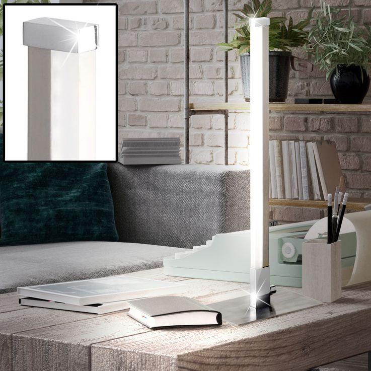 LED Stab Tisch Lampe Wohn Schlaf Zimmer Lese Nacht Licht WOFI 8786.01.54.0000 – Bild 2
