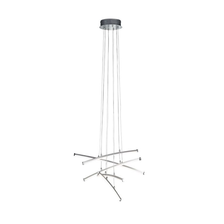 24W LED pendant lamp with 5 glow sticks STELLA – Bild 1