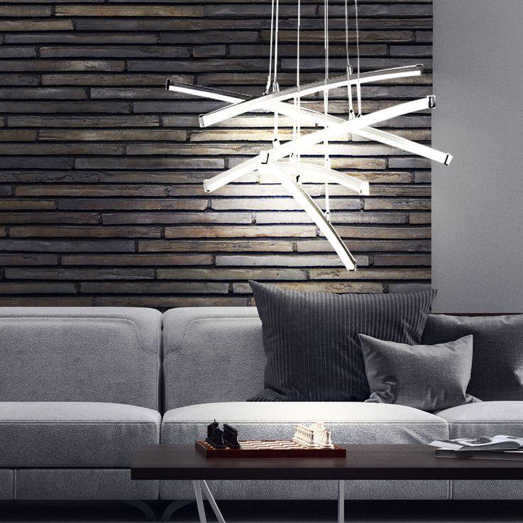 24W LED pendant lamp with 5 glow sticks STELLA – Bild 3