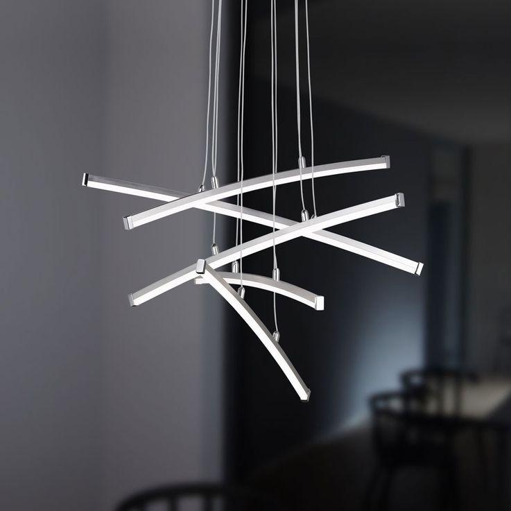 24W LED pendant lamp with 5 glow sticks STELLA – Bild 5