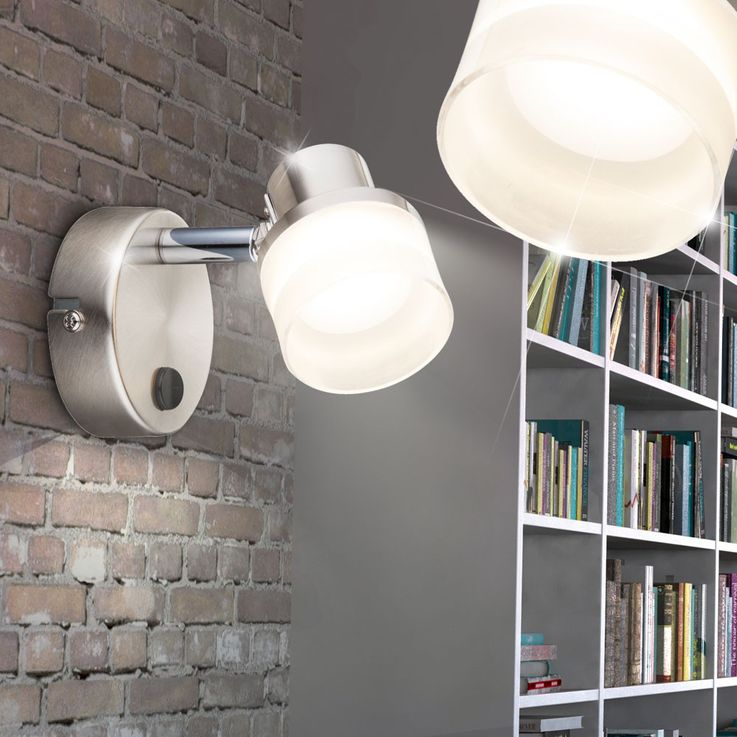 LED Wall lamp with movable spot in the set of 2 – Bild 3