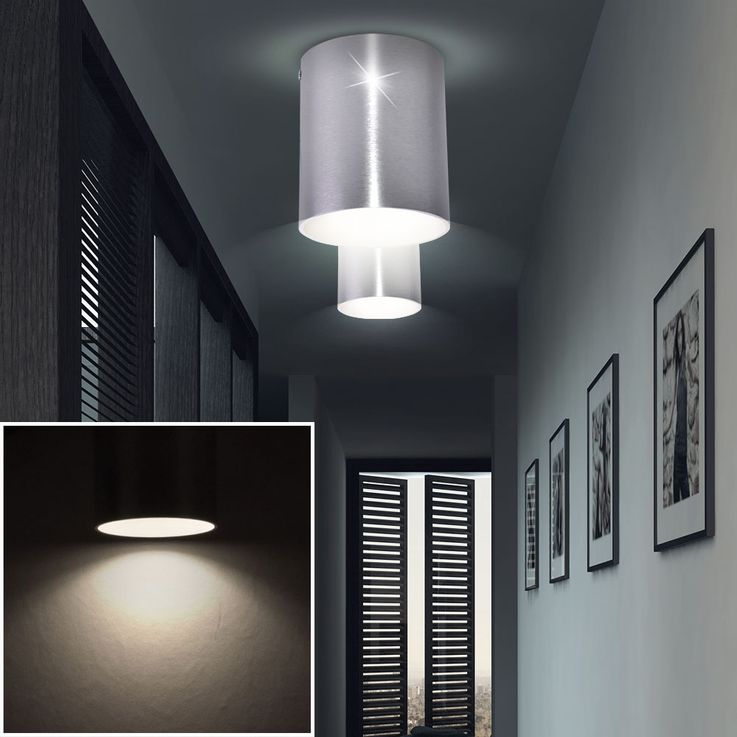 High-quality construction Spotlight ceiling light Wall lamp round light Eglo 91196 – Bild 4