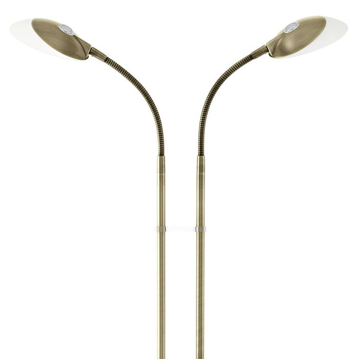 LED stand stand lamp flexo lamp ceiling dining room floodlights of switchable 2-flg EEK A + Eglo 93591 – Bild 3