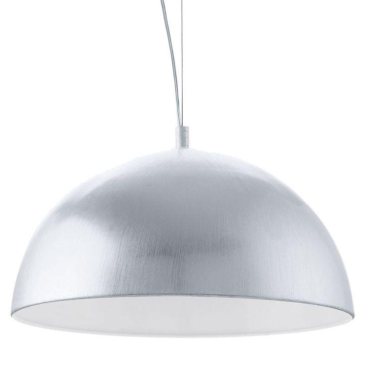 18 watt LED ceiling lamp living room hanging lamp light silver Eglo 92951 – Bild 6