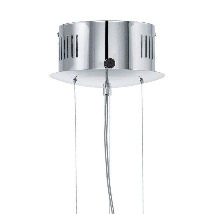 Suspension haute qualité lustre verre blanc opale salle de séjour éclairage – Bild 6