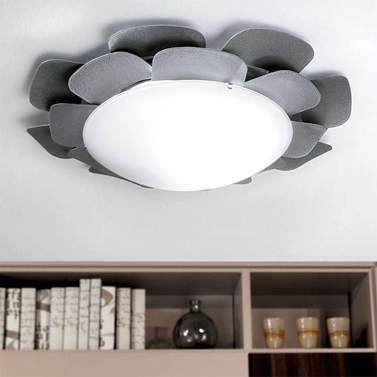 Plafonnier applique design floral éclairage luminaire plafond mural éclairage – Bild 6