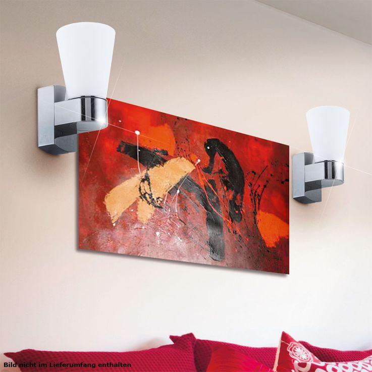Outdoor lighting spotlights Wall lamp lamp light IP44 frosted glass Eglo 91988 – Bild 6