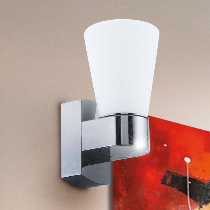 Outdoor lighting spotlights Wall lamp lamp light IP44 frosted glass Eglo 91988 – Bild 2