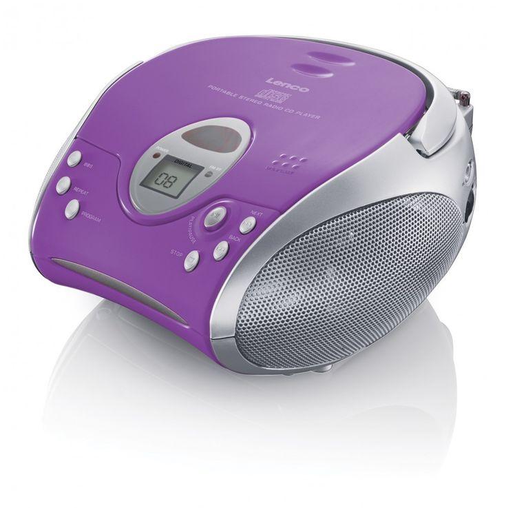 Stereo Radio mit CD Player SCD 24 und Kopfhörer – Bild 10