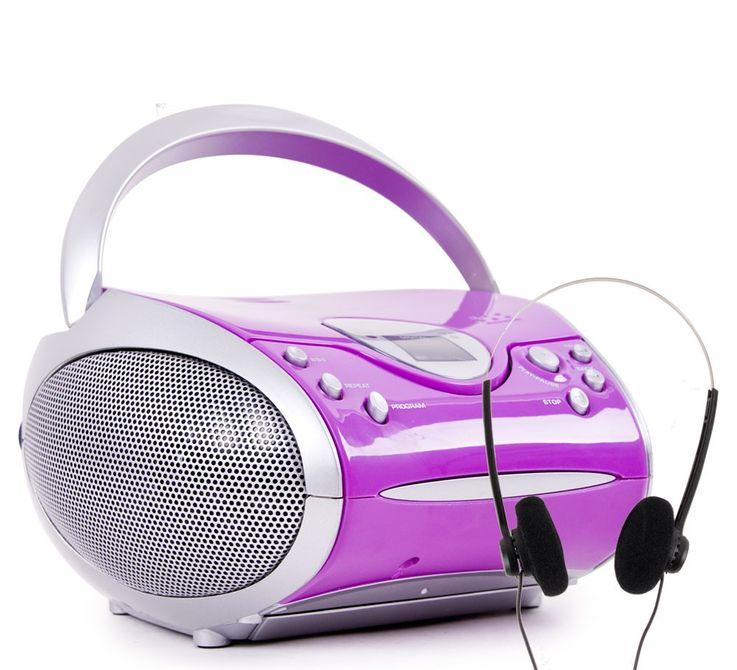 Stereo Radio mit CD Player SCD 24 und Kopfhörer – Bild 1