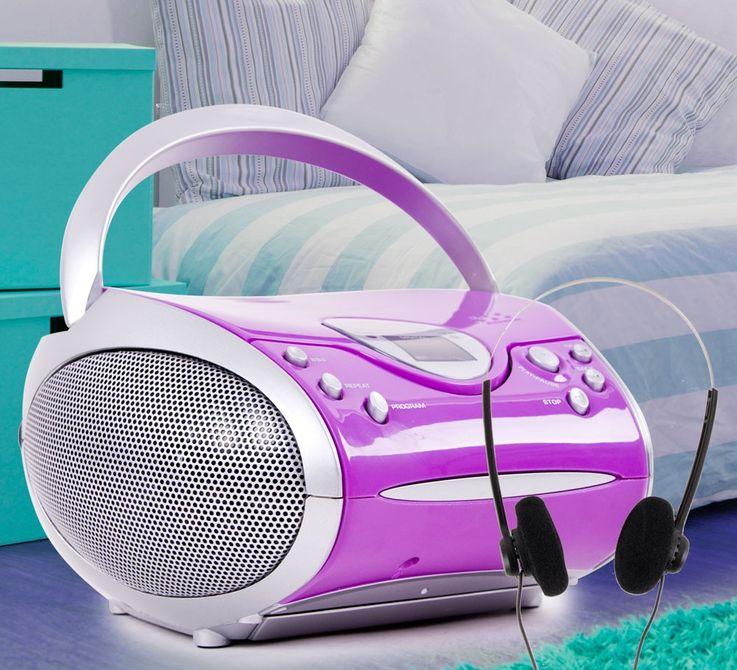 Stereo Radio mit CD Player SCD 24 und Kopfhörer – Bild 2