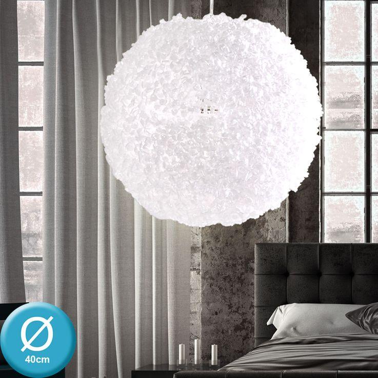 Extravagante Pendel Hänge Leuchte weiß Schlafzimmer Decken Strahler verstellbar Reality R30294001 – Bild 4