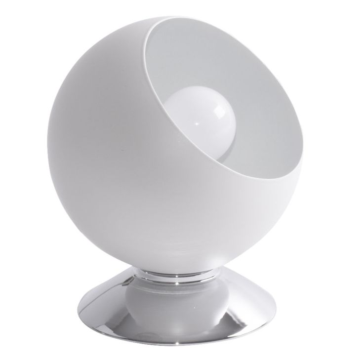 Night table lamp ball spotlight white residential sleep room reading lamp office – Bild 1