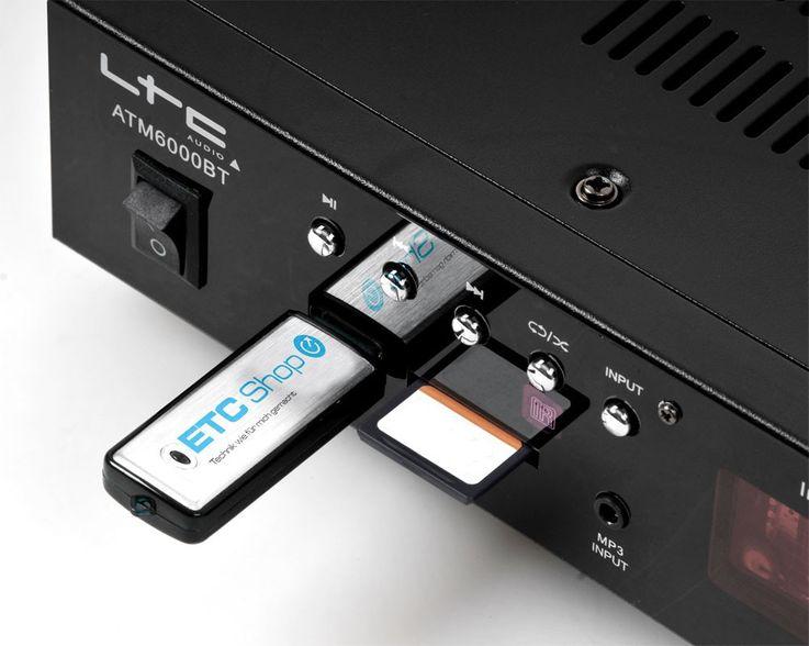 Hifi Heimkino Musikanlage Bluetooth USB MP3 Verstärker weiße Standboxen HIFI-Premium 10 – Bild 6