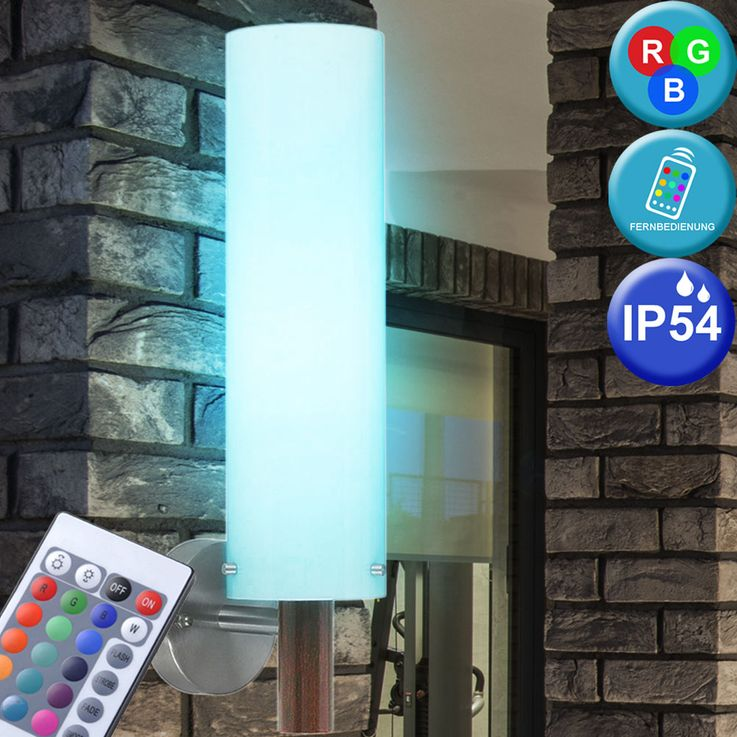 RGB LED Wall lamp for outdoor use – Bild 2