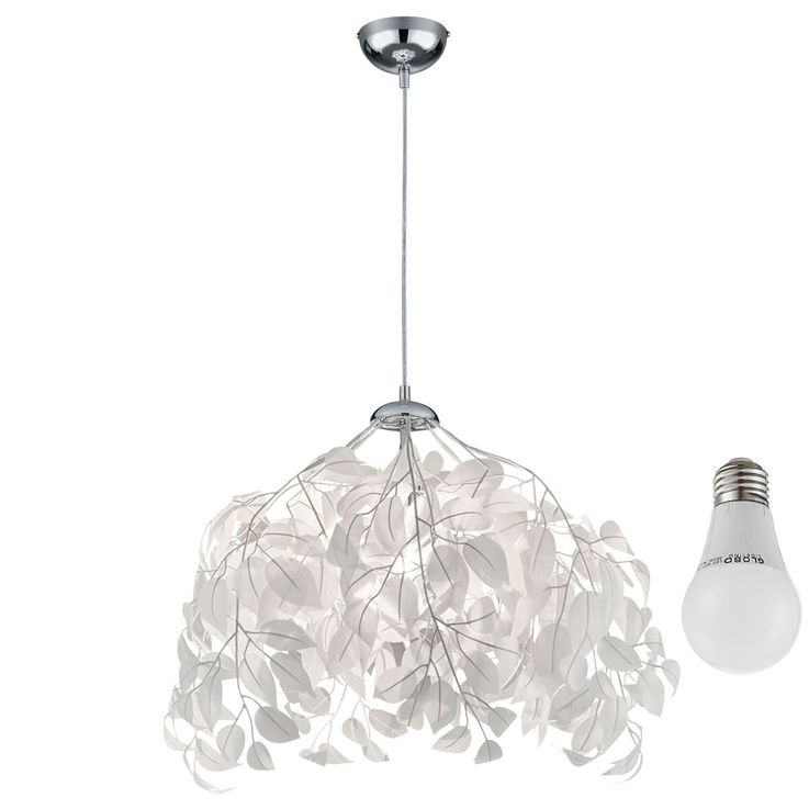 LED pendant lamp in the floral design – Bild 1