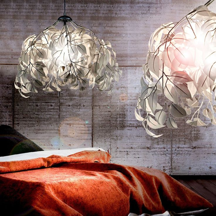 LED pendant lamp in the floral design – Bild 4