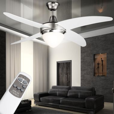Cover fan lamp fan color changes in the set included RGB LED light source – Bild 6