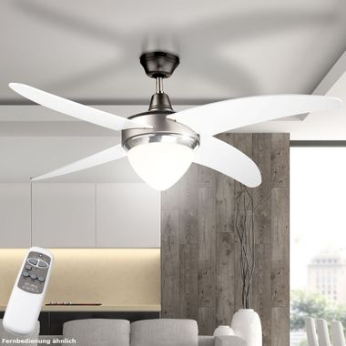 Cover fan lamp fan color changes in the set included RGB LED light source – Bild 8