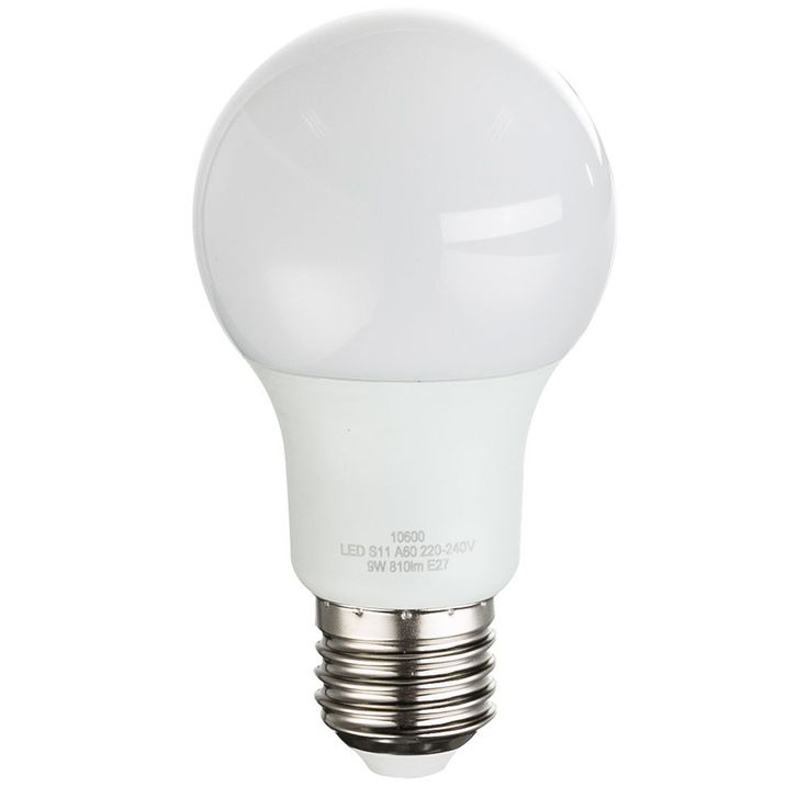 Luxury 9 watt LED bulb E27 ball bulb 810 lumens EEK A + Globo 10600 – Bild 6