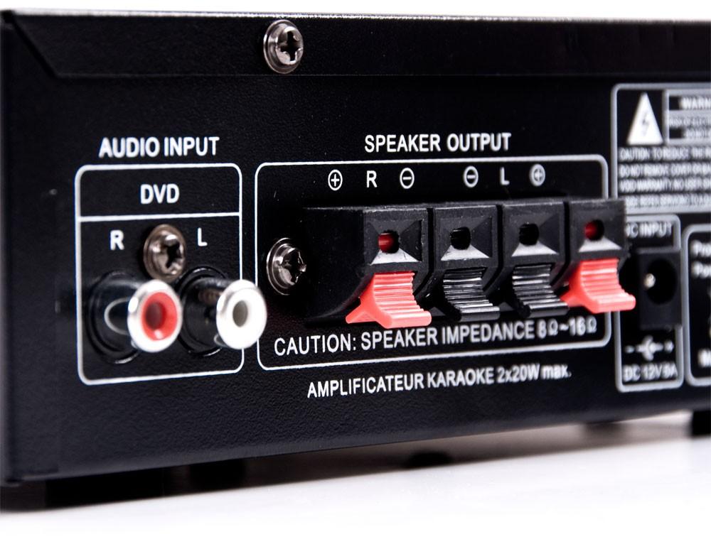 PA Set mit Boxen und Karaoke Bluetooth Verstärker DJ-Party 9 – Bild 7