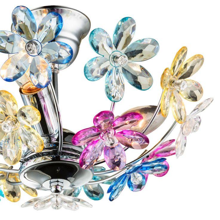 Dekorative Deckenlampe im floralen Design – Bild 8