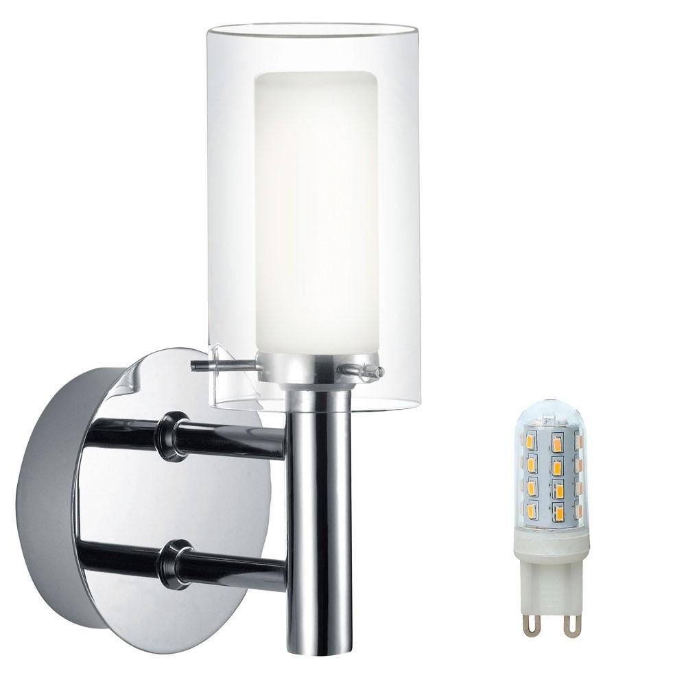 Applique Exterieure Del Eclairage Luminaire Mural Lampe Led Verre