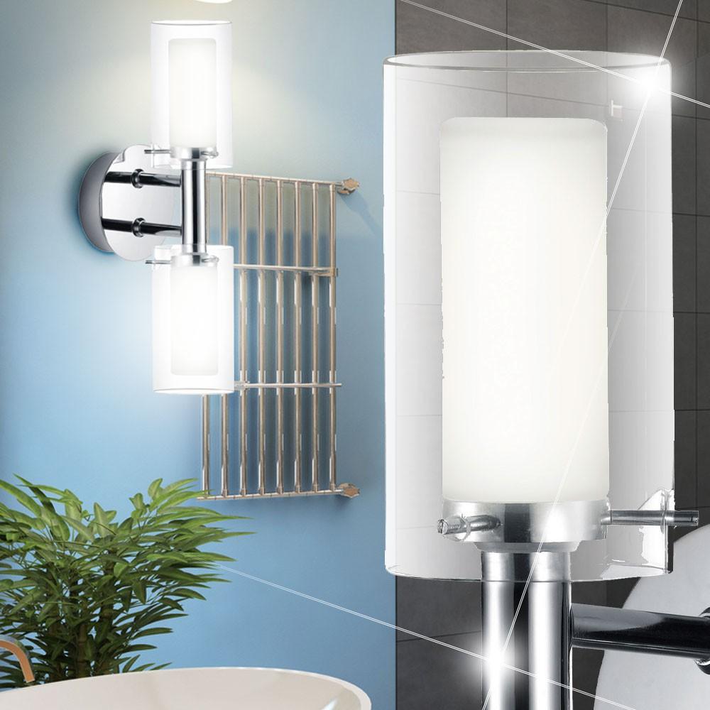 2er set wandlampe f r ihr badezimmer. Black Bedroom Furniture Sets. Home Design Ideas