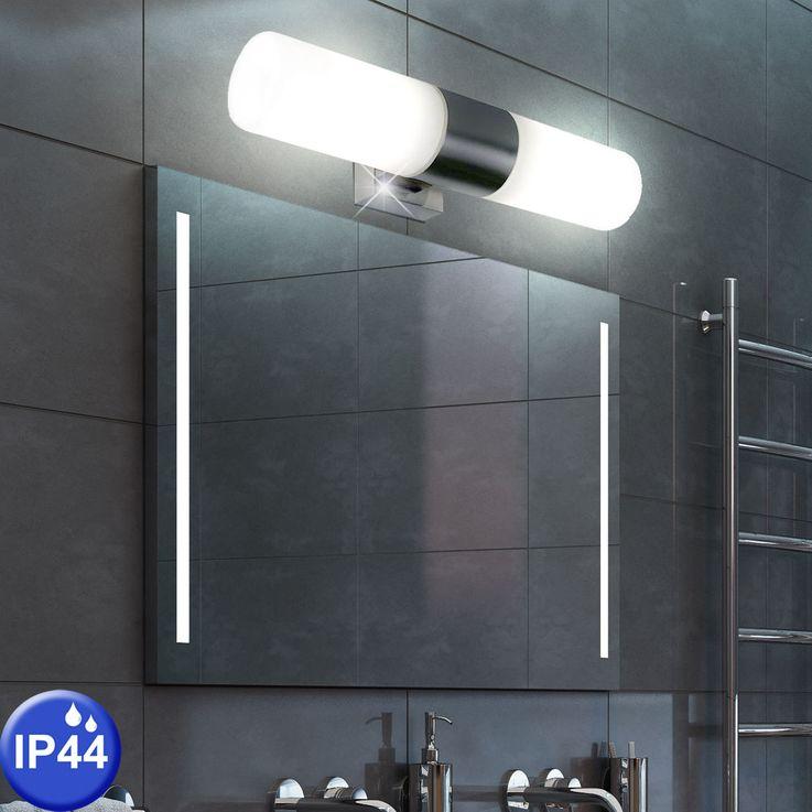 Design wall lamp bath room mirror glass spotlight damp room lamp silver  Nordlux 17141032 – Bild 3
