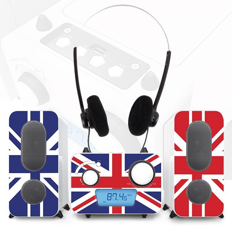 stereo musik anlage cd spieler kinder radio usb mp3. Black Bedroom Furniture Sets. Home Design Ideas