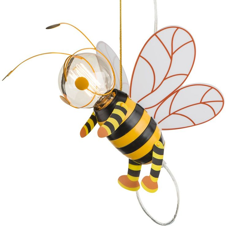 Children room pendant light honey bee hanging lamp wing Hornet Globo 15725 – Bild 8