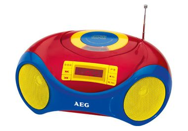 Tragbare Karaoke Kinder Stereo Anlage MP3 Radio USB CD Mikrofon im Set inklusive Kinder Sticker – Bild 3